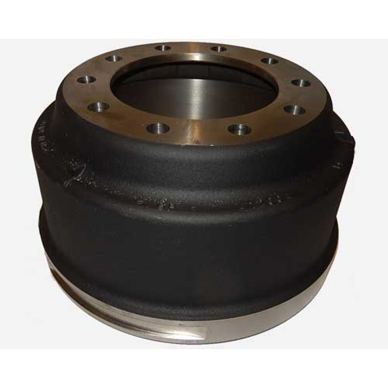 "Side view of Alliance Brake Drum 16.5"" x 7"" Balanced, - N42A1657VB"