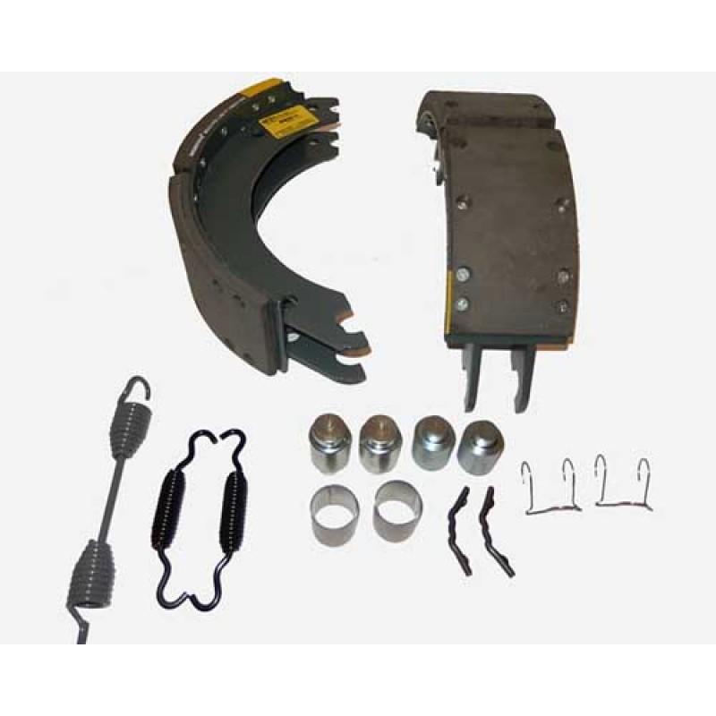 Components of Alliance Brake Shoe Kit 4702Q W/Hardware, - MK4702Q - 20 PREM