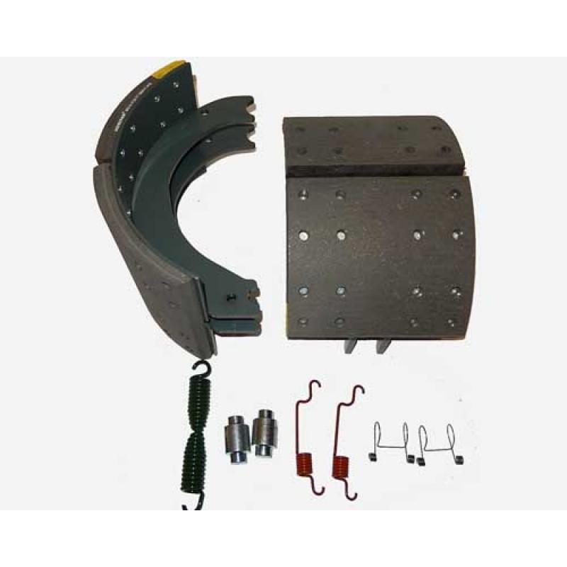 Components of Alliance Brake Shoe Kit 4726E2 W/Hardware, - MK4726E2 - 20 PREM