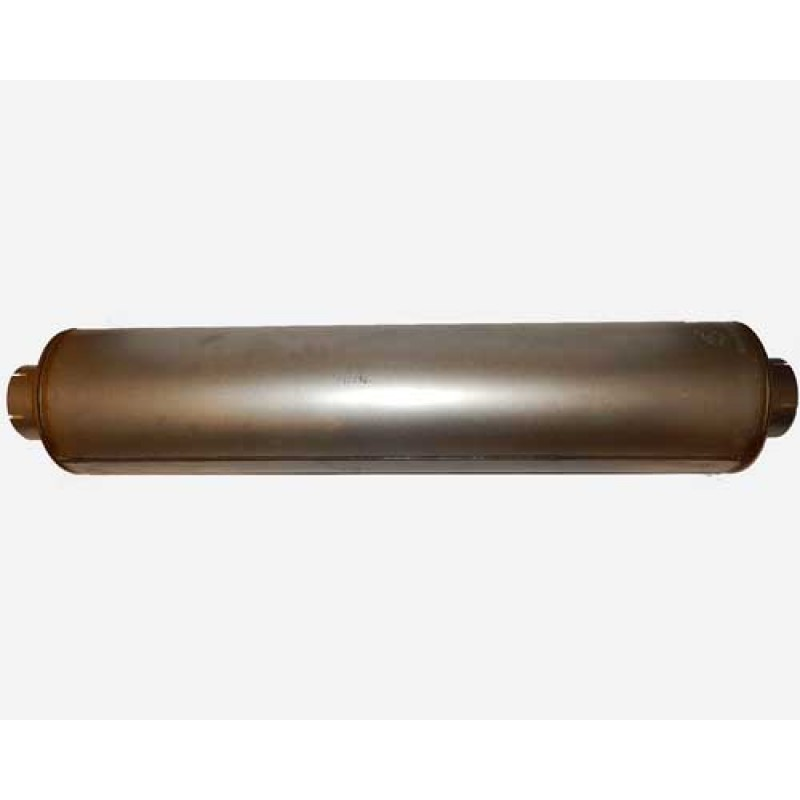 "image of Donaldson muffler 5"" ID IN/OUT, 10"" DIA, 51"" Long - M100465"