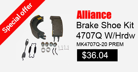 alliance brake shoe kit 4707q