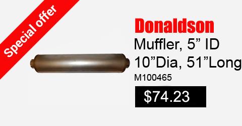 Donaldson Muffler m100465